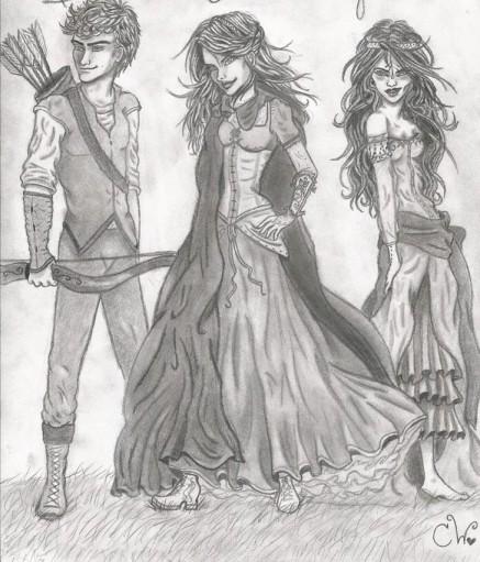 brock, ellie, & jennica (no spoilers)